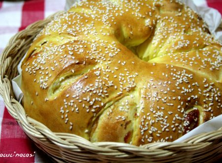 Ciambella di pan brioche farcita