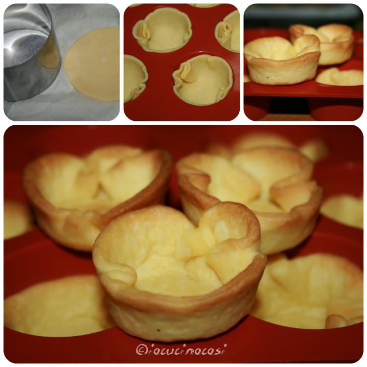 Come fare i cestini di pasta sfoglia o pasta brisè