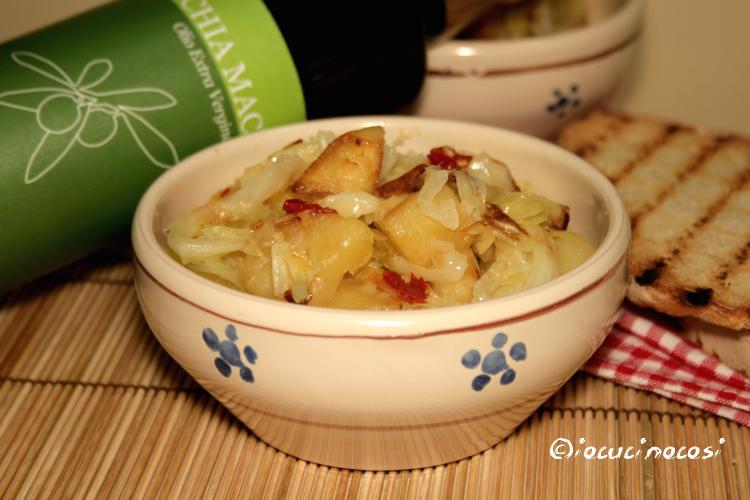 Minestra verza e patate