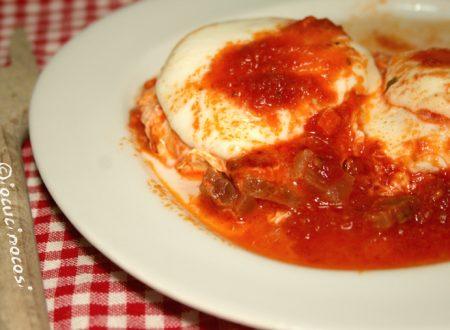 Uova al pomodoro saporite