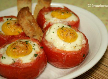 Uova in cocotte di pomodori