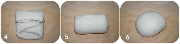 Pieghe a 3 per pane e pizza