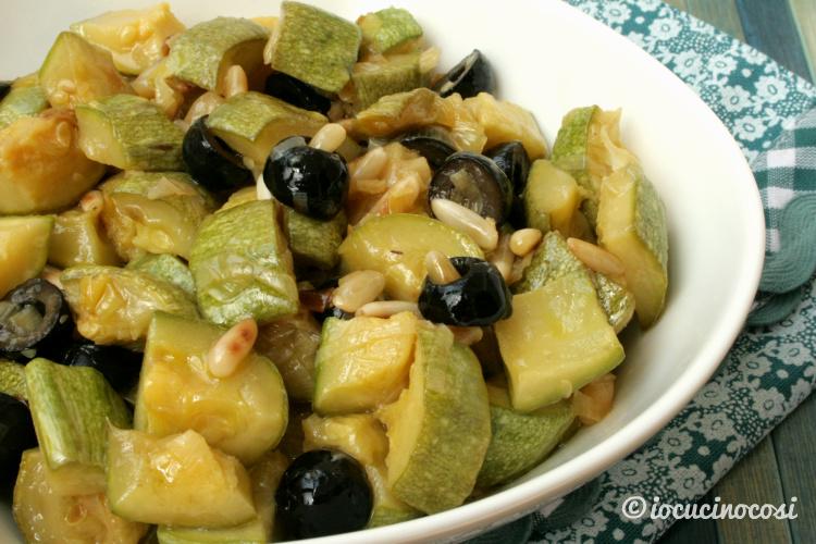 Ricetta Caponata di zucchine