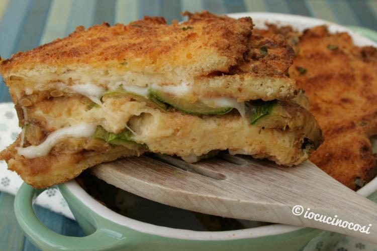 Ricetta Tortino di pane e zucchine