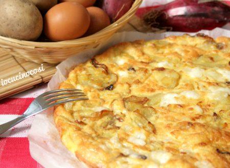 Frittata di patate e cipolle al forno