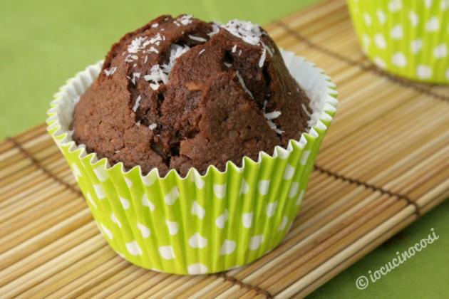 Muffin nutella e cocco