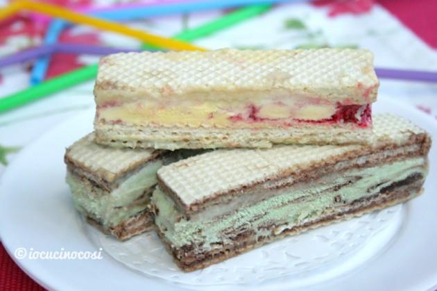 Wafer gelato - Idea dolce facile e veloce