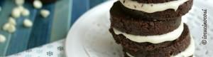 Biscotti senza cottura farciti cacao e nocciola