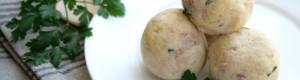 Polpette fredde di patate e tonno