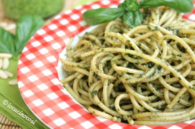 Ricetta Spaghetti pesto alla genovese