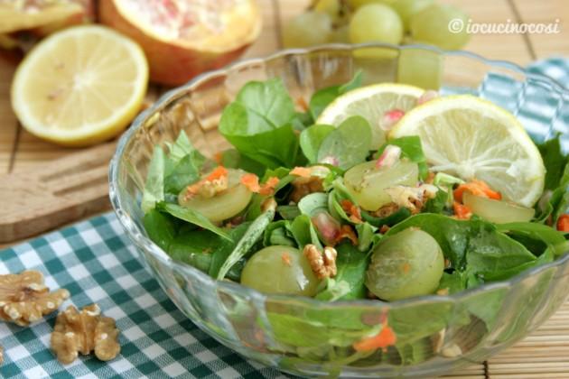 Insalata mista di verdura e frutta