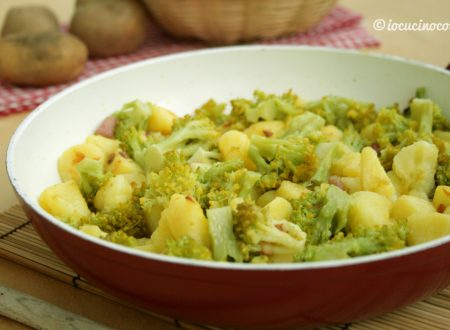 Patate e broccoli in padella
