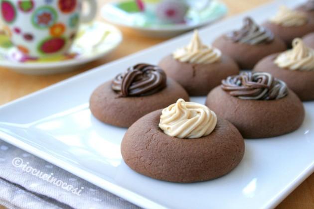 Nutellotti - Biscotti alla nutella farciti