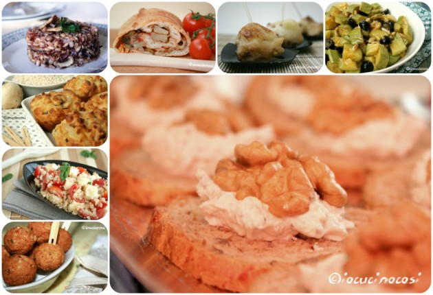 Antipasti vegetariani - Raccolta di ricette
