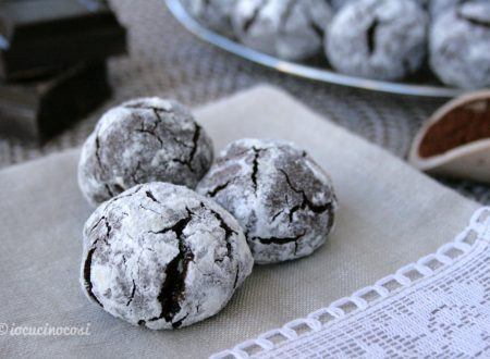 Biscotti al cioccolato e arancia – Chocolate and Orange Crinkle Cookies