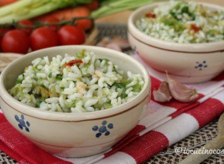 Minestra di riso e scarola alla calabrese