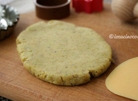 Pasta frolla al pistacchio