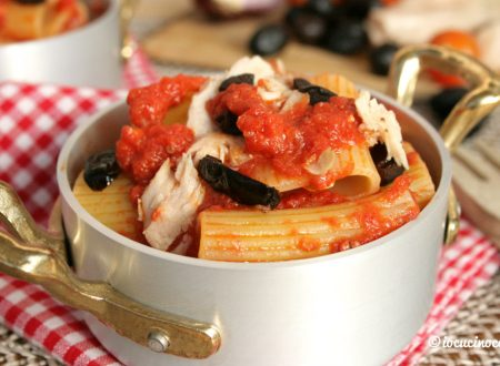 Pasta tonno e olive alla calabrese