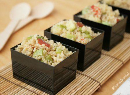 Quinoa e Cous cous con verdure