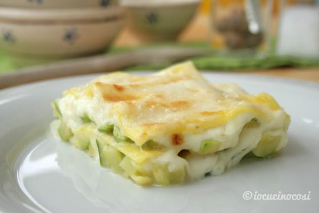 Lasagna alle zucchine e tonno