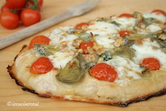 Pinsa romana ricetta io cucino cos for Pizza con planetaria