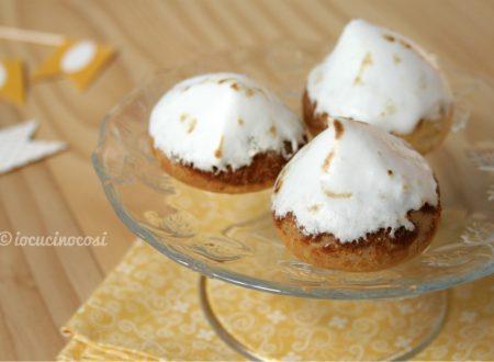 Choux au citron meringués – Bignè al limone meringati