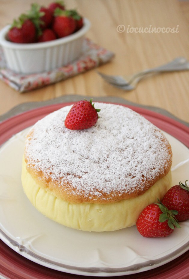 Cheesecake giapponese - Japanese Cotton Cheesecake