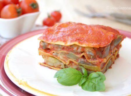 Lasagna vegana carciofi e patate