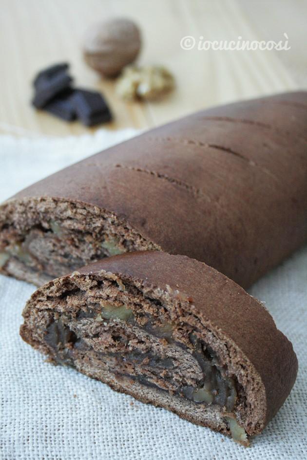 Pane di castagne e cioccolato