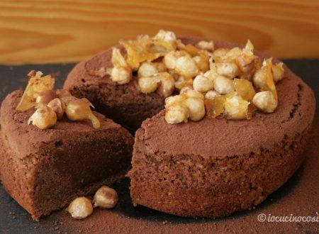 Torta gianduia con caramello