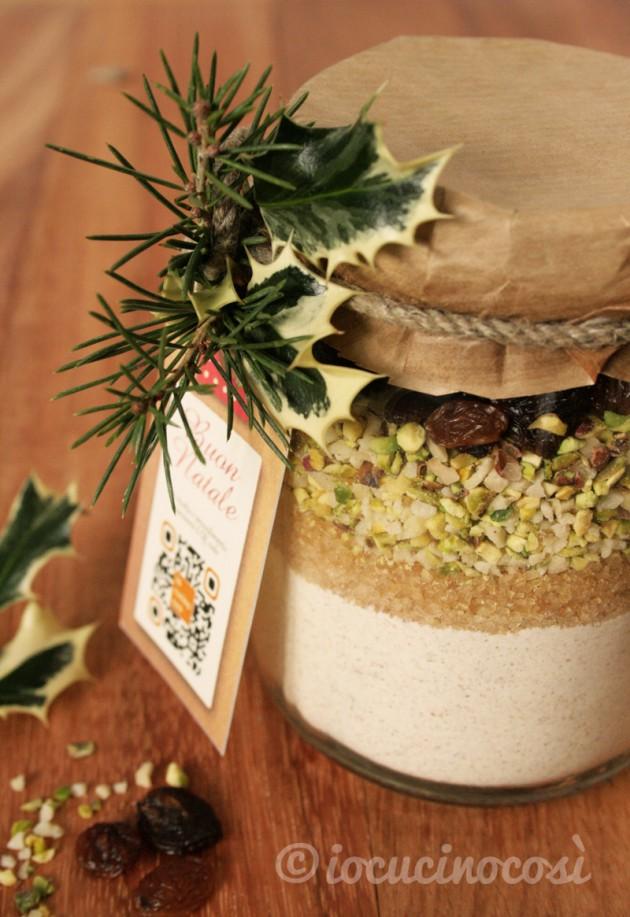 Preparato per biscotti al farro - Ricetta in barattolo da regalare Preparato per biscotti al farro - Ricetta in barattolo da regalare