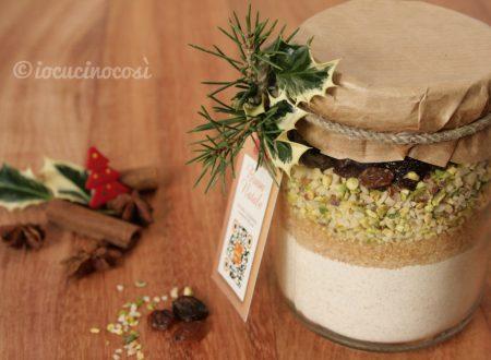 Preparato per biscotti al farro – Ricetta in barattolo da regalare