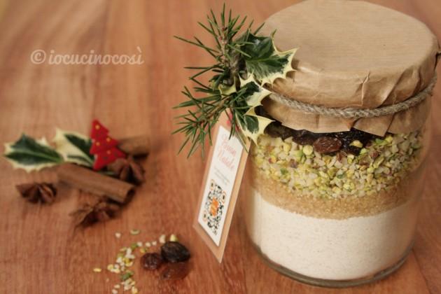 Preparato per biscotti al farro - Ricetta in barattolo da regalare