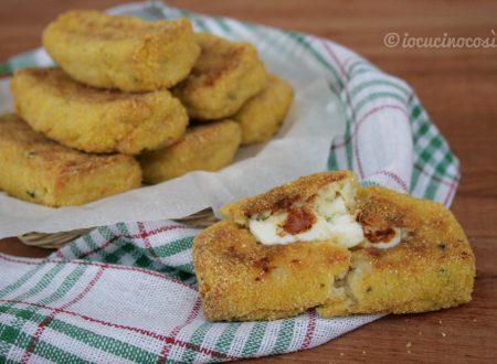 Crocchette di cavolfiore e patate con scamorza