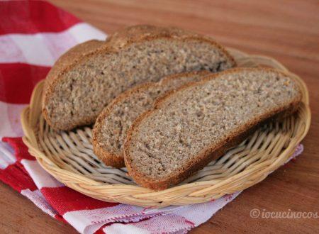 Pane di segale o grano iermano (pane di Canolo)