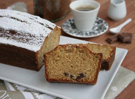 Plumcake al caffè e cioccolato