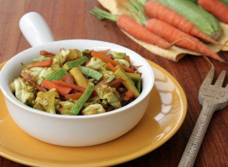 Verdure croccanti al curry