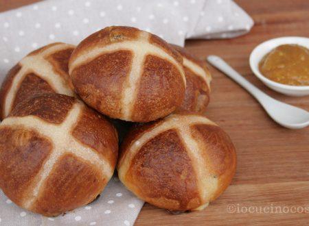 Hot Cross Buns – Panini dolci con uvetta