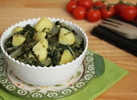 Minestra verde con patate