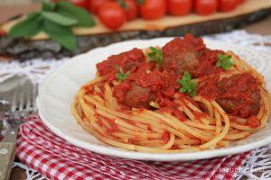 Spaghetti and Fish balls