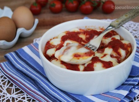 Uova alla parmigiana