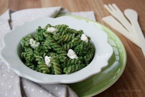 Pasta ricotta e spinaci, primo veloce e cremoso