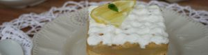Mattonella al limone