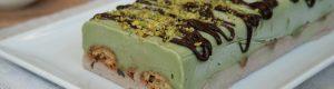 Semifreddo pistacchio e nocciola