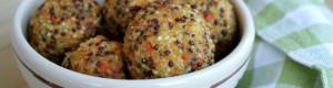 Polpette di quinoa e carote