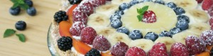 Crostata fredda alla ricotta e frutta