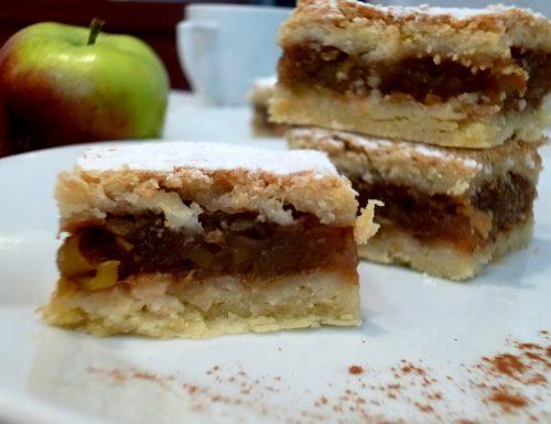 tarte aux pommes rapées – torta di mele alla Francese
