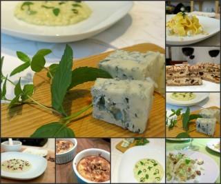 Collage gorgonzola