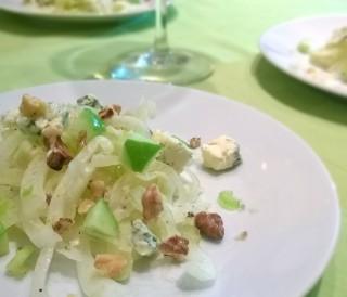 insalata di finocchi e gorgonzola