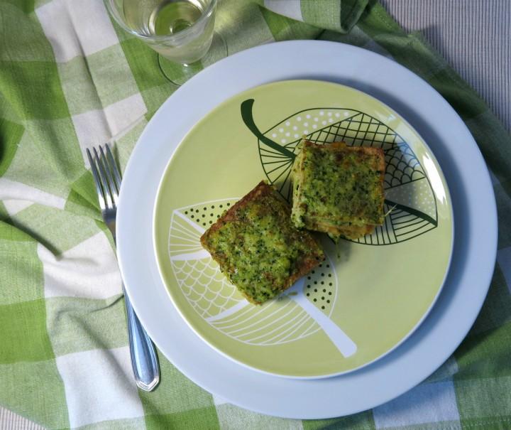 lasagne di quinoa con mozzarella e crema di zucchini web